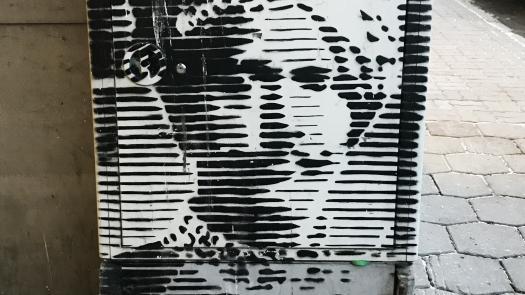 Graffiti in Viljandi