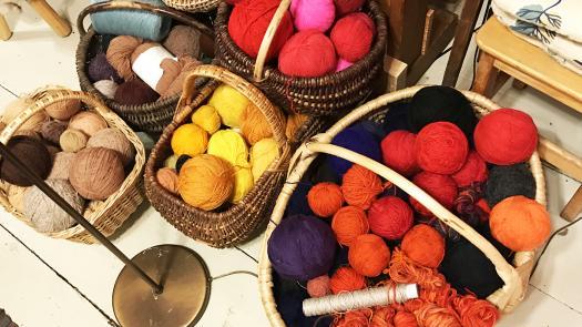 Wool samples - Martyn Evans