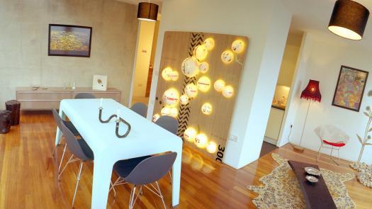 Urban Splash - apartment interior design - David Grimshaw