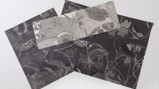Gawthorpe Etched and Digitally Printed Paper Samples - Rachel Kelly