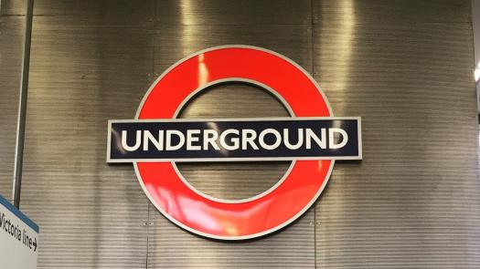 London Underground Roundel at King's Cross St Pancras Station - Michael Coates