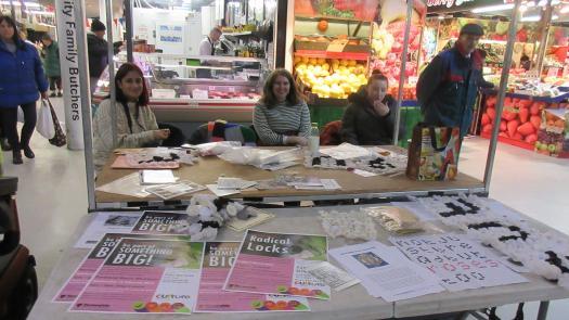 Radical Locks workshop, Ashton market