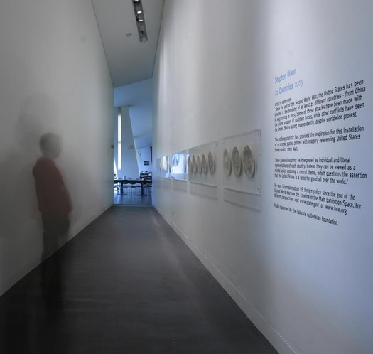 '21 Countries' Imperial War Museum North Installation 2004
