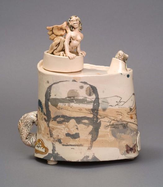 'The Sphinx' teapot. 2004.
