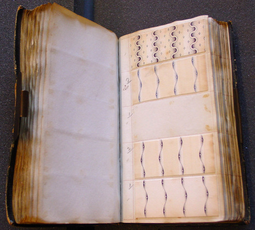 Swaisland 'X' Book, around 1822