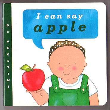 'I can say apple'