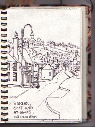 Bigger, Scotland.