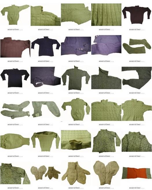 Historical seamless garments 1
