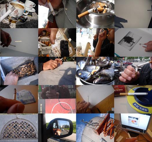 Work (All the cigarette breaks, Antwerp, September 2007)