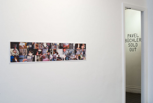 Work (All the cigarette breaks, Max Wigram Gallery, January 2008)