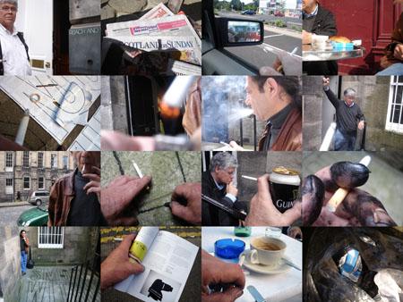 Work (All the cigarette breaks, Sleeper, Edinburgh, July 2008)