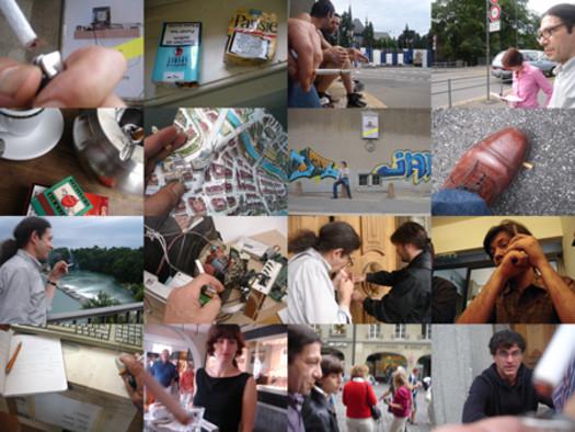 Work (All the cigarette breaks, Kunsthalle Bern, August 2008)