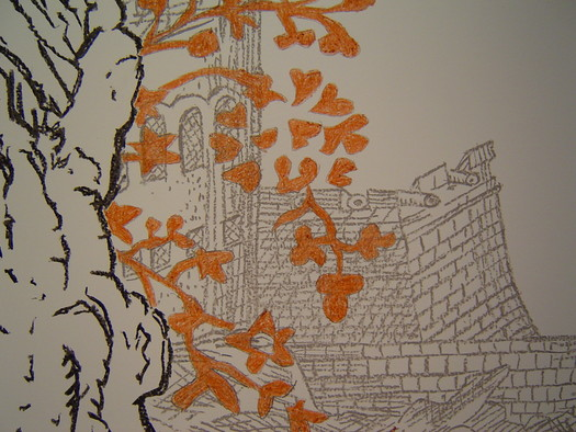 Installation drawing detail