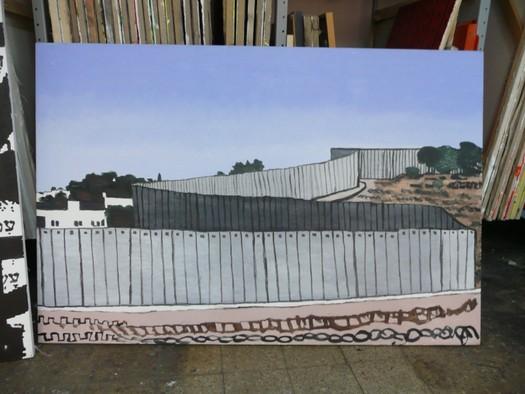 David Reeb's studio, Tel Aviv, 2008