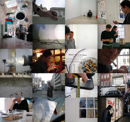 Work (All the cigarette breaks, Max Wigram Gallery, London, January 2009)