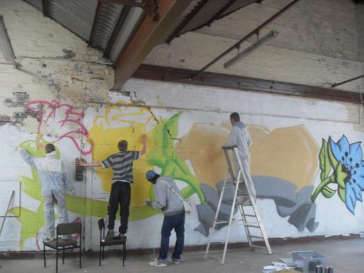 Graffiti*d: installation with Unity