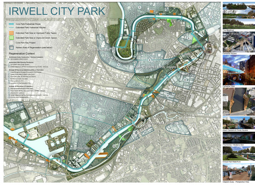 Irwell City Park Masterplan