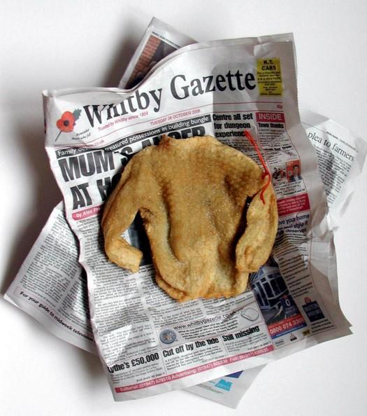 Deep-fried gansey
