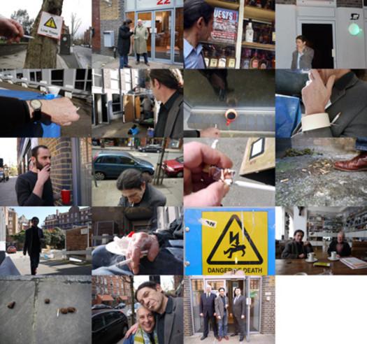 Work (All the cigarette breaks, Calvert22, London, April 2010)