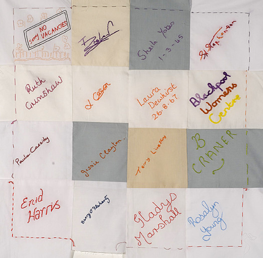 Blackpool wedding quilt