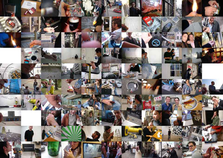 Work (All but one cigarette breaks, Max Wigram Gallery, London and Berlin, 2008-2010)