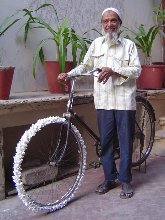 Lala Bhai with 'Hero'.