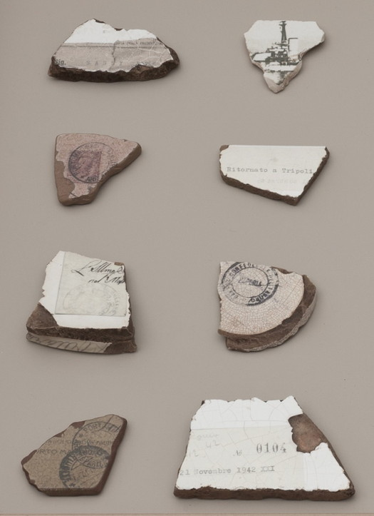 Letters from Tripoli (detail)