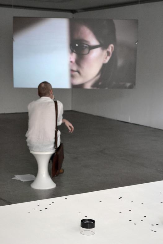 Babel Fiche, 2012, installation view
