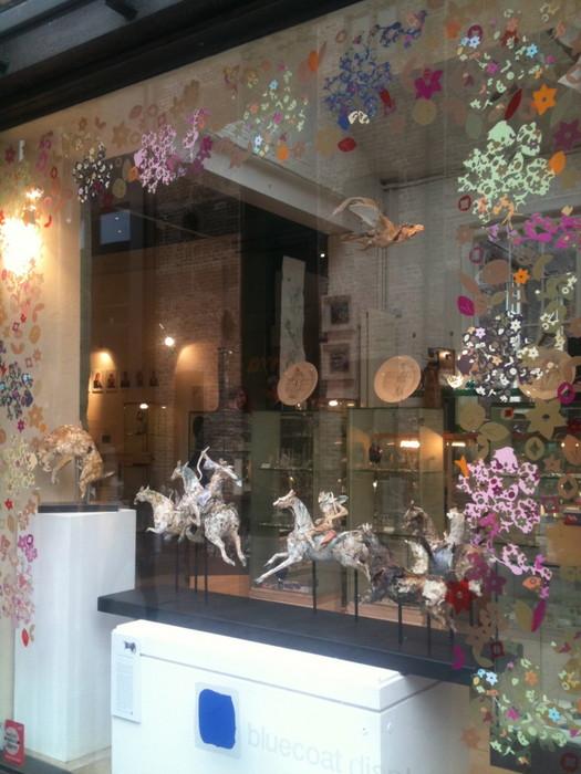 Display Window Decoration by Rachel Kelly