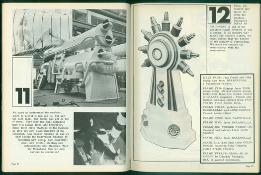New Worlds' writers admired Paolozzi's 'science fiction' art