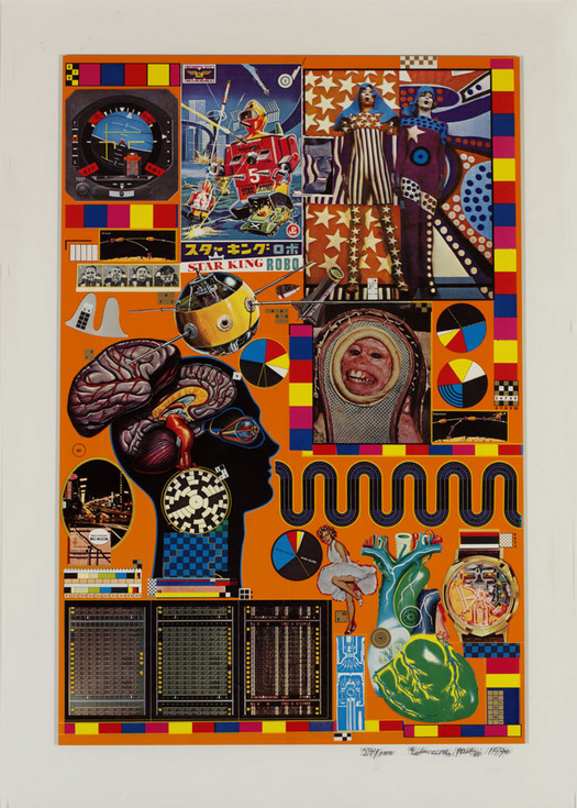 Eduardo Paolozzi, from the series, ZEEP 1970