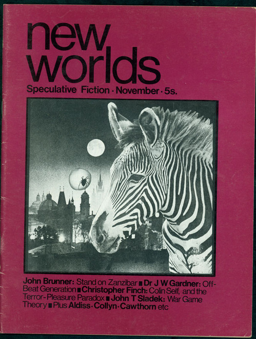 New Worlds' 'weird' covers broadcast the 'inner space' ethos of writers such as Ballard