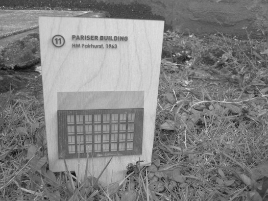 Pariser Building Plaque :Yates and Barlow