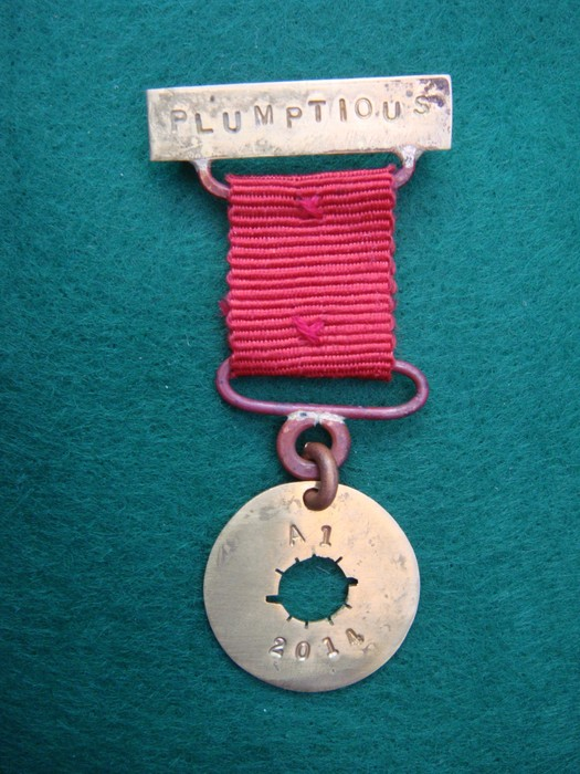 Plumptious Gooseberry Medal