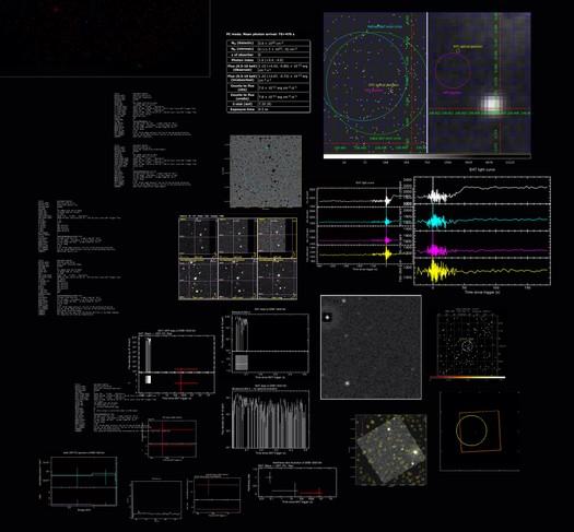 Extinction Event [GRB130313a], 2013, detail