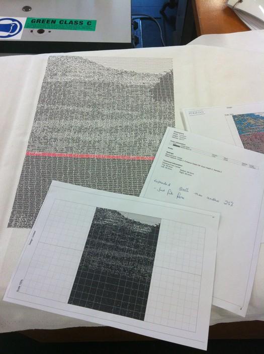 Digital design visual tests