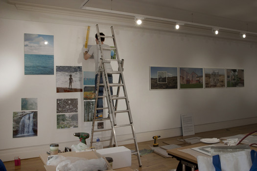 Peltz Gallery, Install, London 2014