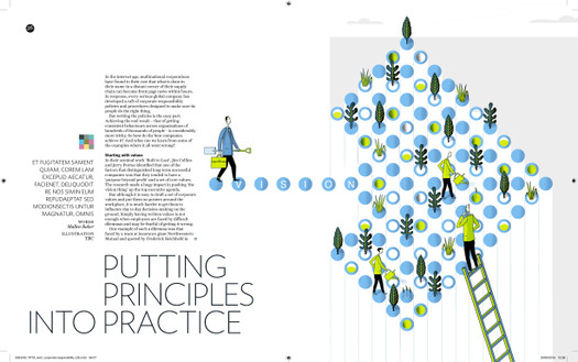 Corporate Social Responsibility: Tata Steel In house Magazine - Thought Leader