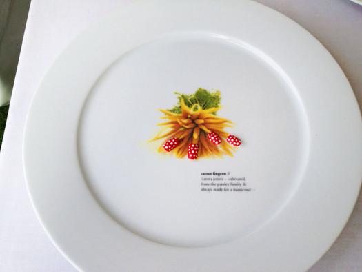 Carrot Fingers Plate