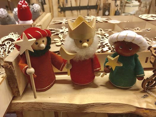 Three Kings, Christmas crafts