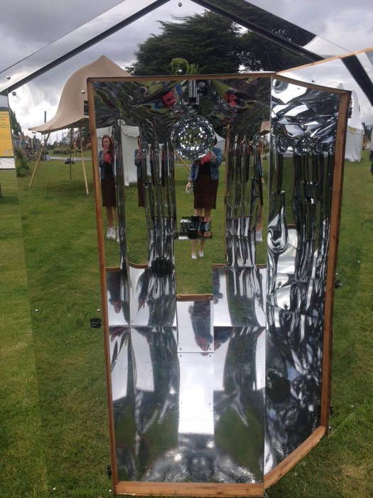 Invisibility Tardis Shed of Navel Contemplation, Clare Knox-Bentham & Adrian DiGaudio, 2015