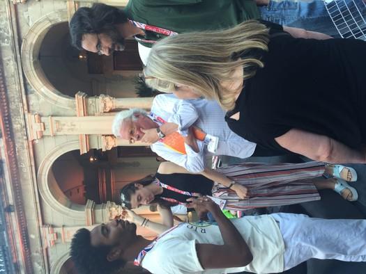 Talking to Sir Richard Eyre, Parque Lage Rio 2016