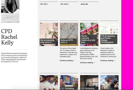 Academic Development Blog Site