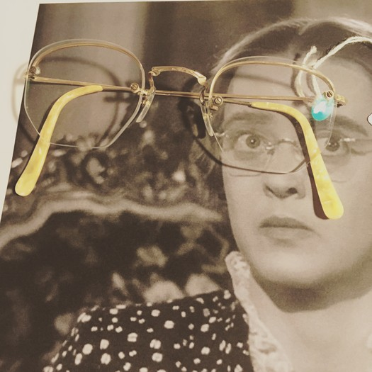research for Platt project at General eyewear with Bette Davis as Miss Charlotte Vale : Now Voyager 1942