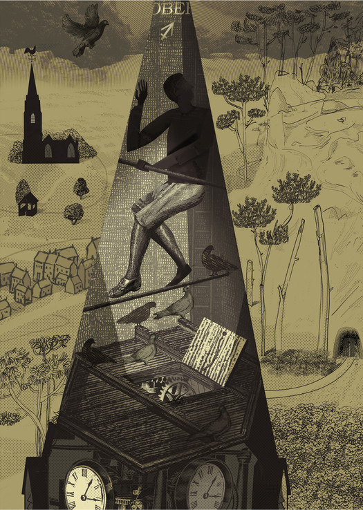 RCA Conwy Exhibition: Imagined Realms - The Mason's Mark