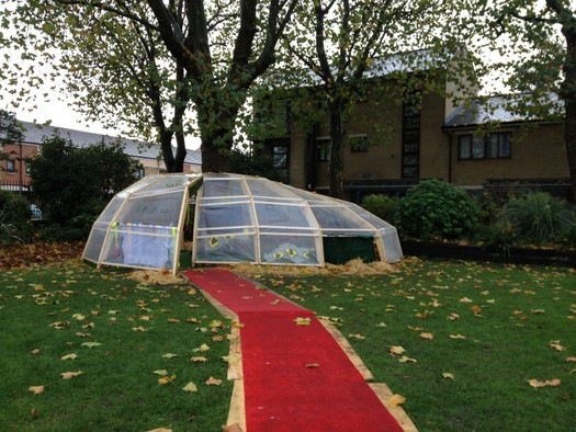 The Pop Lab in Bob's Park, Bromley-By-Bow