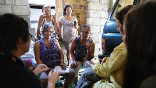 Manabo Weaving workshop