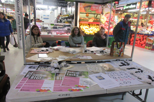 Radical Locks workshop, Ashton market