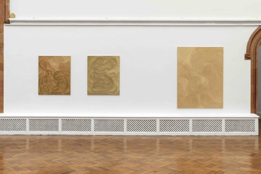 Installation view of Yelena Popova, The Scholar Stones Project, at the Holden Gallery. 07.02.20 - 20.03.20