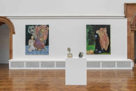 Installation view of Sofya Shpurova 'Low Human Activity' at the Holden Gallery.  01.11.19 - 13.12.19
